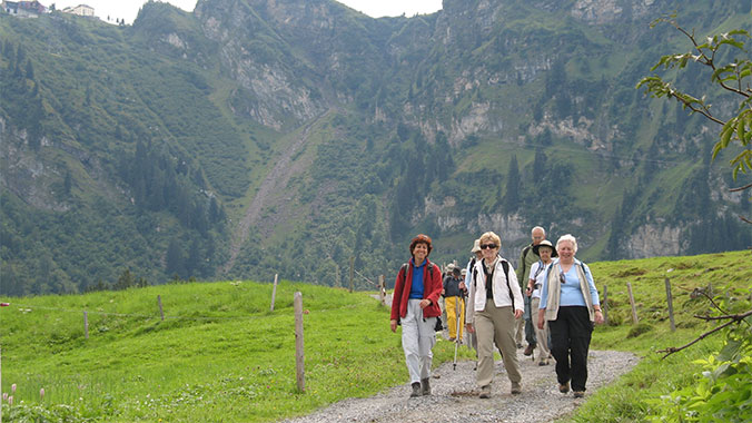 Choose Your Pace: Hiking the Swiss Alps in Appenzell & Arosa