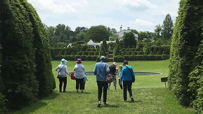 Topiaries, Pleasure Gardens and Botanical Gems in Philadelphia and Beyond