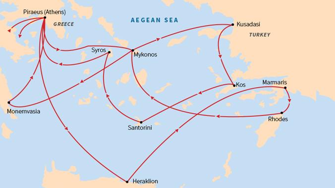 Grand Odyssey: Celebrate Greek Easter in the Greek Isles