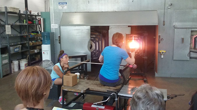Glassmaking Corning New York