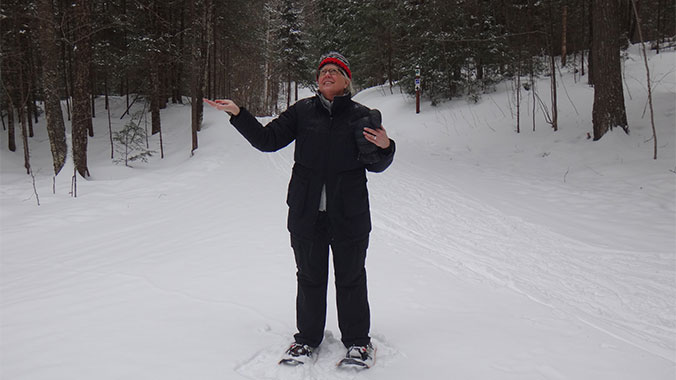 Skiing & Snowshoeing in Northwoods Wisconsin