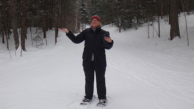 Skiing & Snowshoeing in Northwoods Wisconsin