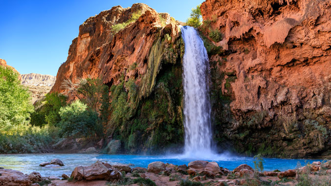 Hiking Granite Gorge and Havasupai