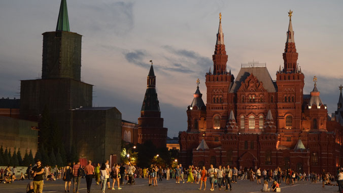 Royalty, Revolution and Rebirth in Moscow and St. Petersburg