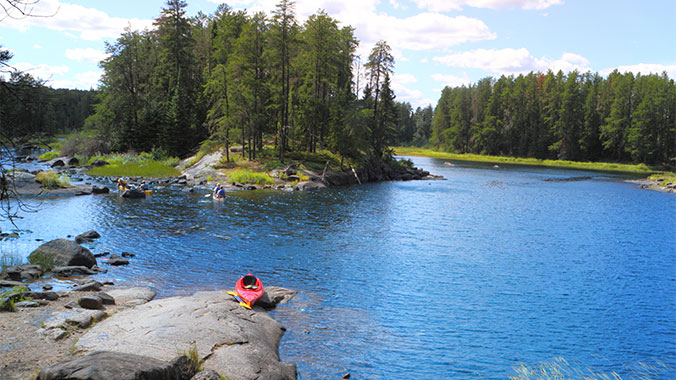 Camping in Voyageurs National Park With Your Grandchild