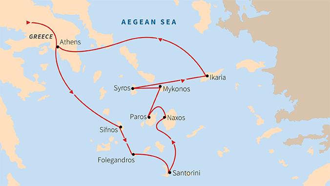 Classical Greek Islands