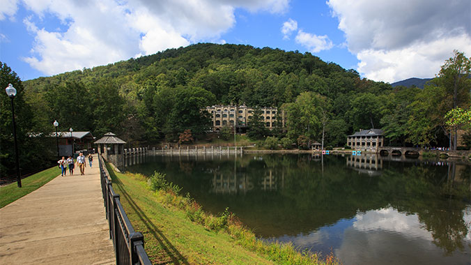 Pickleball at Montreat
