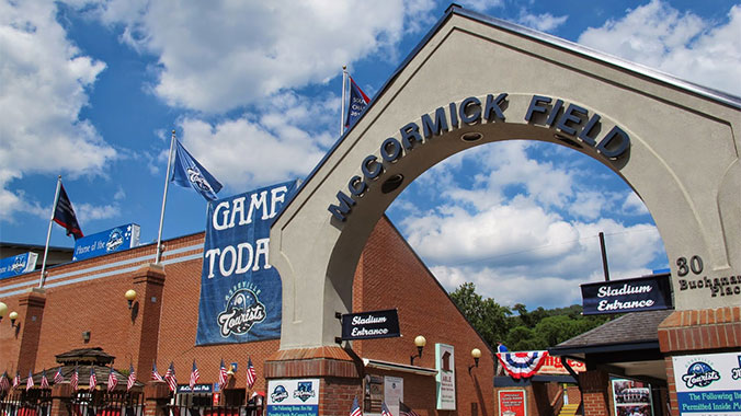 Baseball, BBQ and Beer in the Blue Ridge Mountains