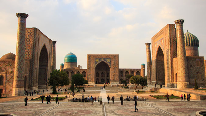 On the Silk Road in Central Asia
