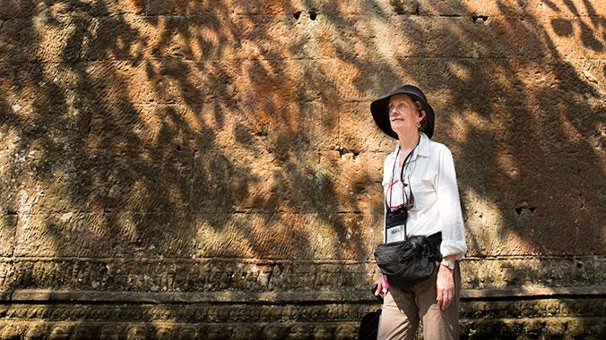 Angkor Wat and the Mekong River