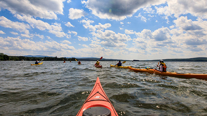 Kayaking Day Trips: Québec and Vermont