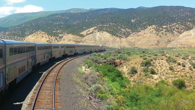 Train Treks across California Sierra Nevada