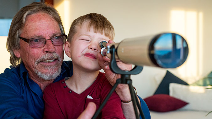 Science of the Stars: Astronomy Exploration With Your Grandchild