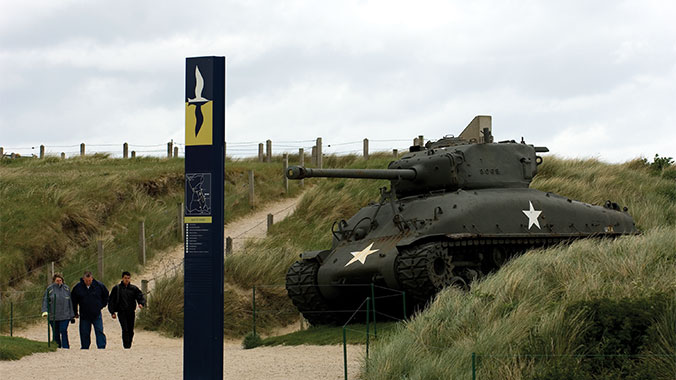 France Normandy Beach WW2 history