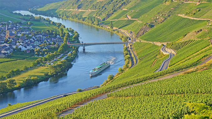 Enchantment Along the Moselle River: Castles, Vineyards and Art