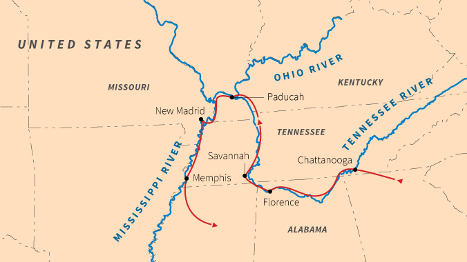Civil War Battlefields Along The Mississippi And Its