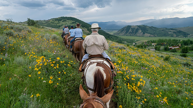 Rodeo, Rafting & Riding in the Tetons With Your Grandchild