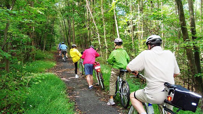 Rustic Pennsylvania Cycling