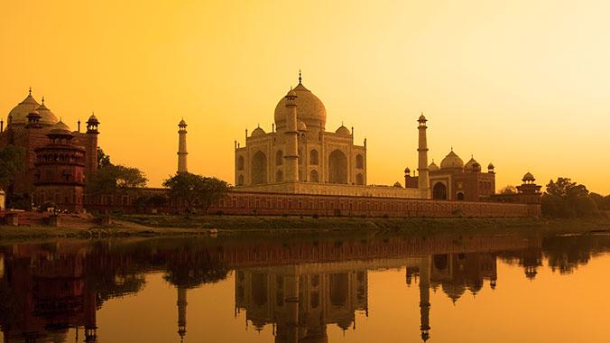 Cruising India ganges river