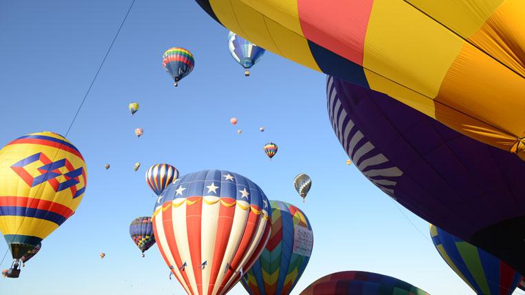 Santa Fe & the International Balloon Fiesta