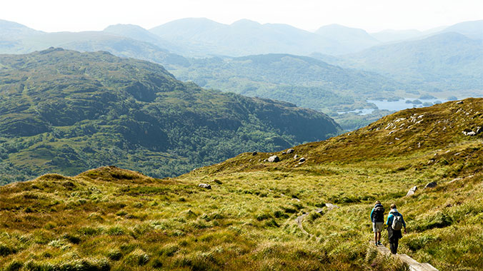 Edge of the Emerald Isle: Hiking Ireland With Your Grandchild
