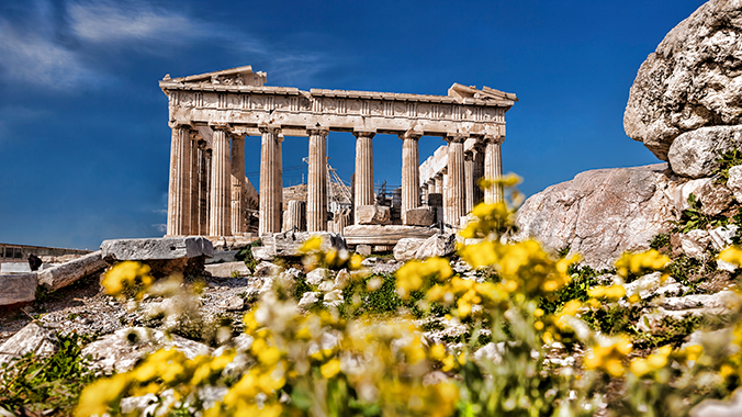 Greek Mythology in Athens & the Cyclades Islands: A Family Voyage