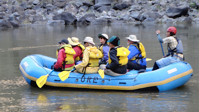Oregon Owyee River Whitewater Rafting