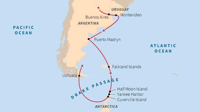 Antarctica and the Falkland Islands