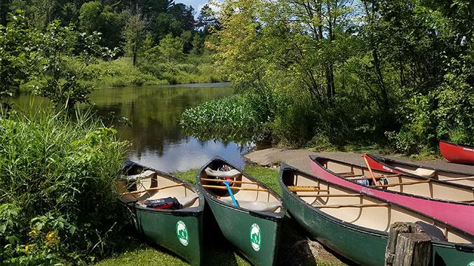 Canoeing Wisconsin Northwoods