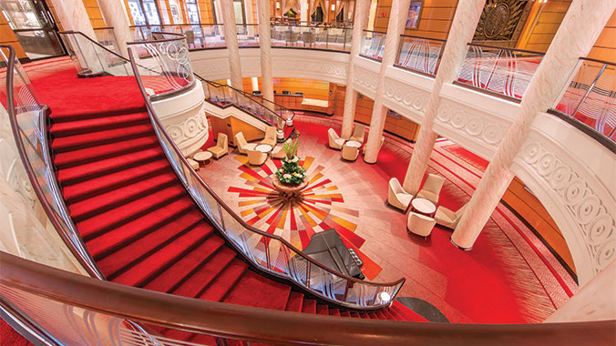 Art Capitals of the World: A Transatlantic Voyage Aboard the QM2