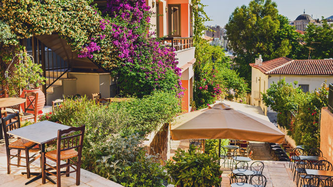 Lodging In: Athens