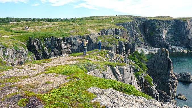 Hike Discovery Channel in Newfoundland