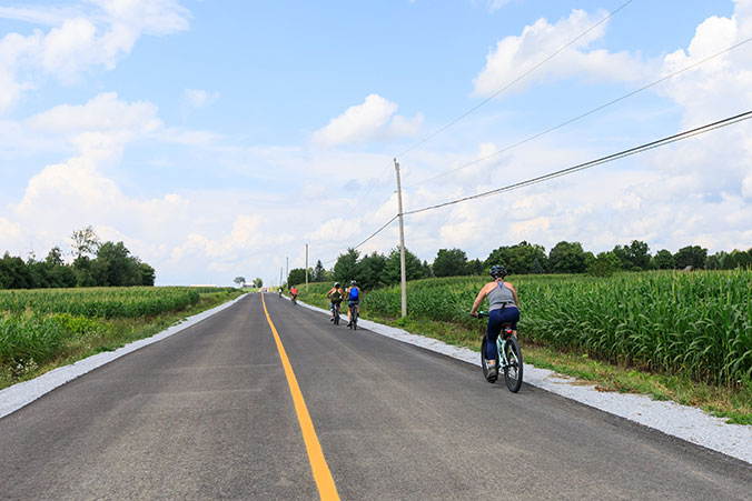 Bicycling: Day Trips To Paradise