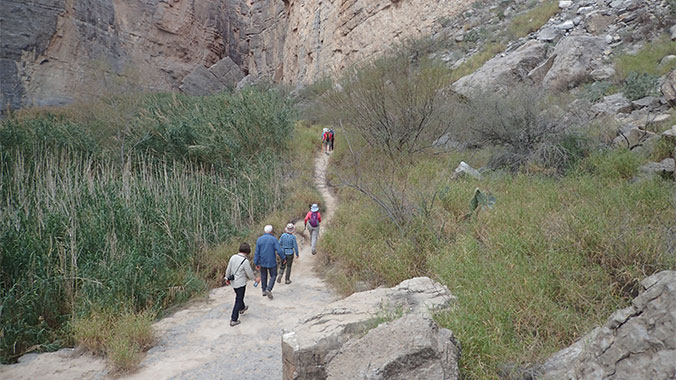 Hiking at Big Bend, Guadalupe Mountains & Carlsbad Caverns