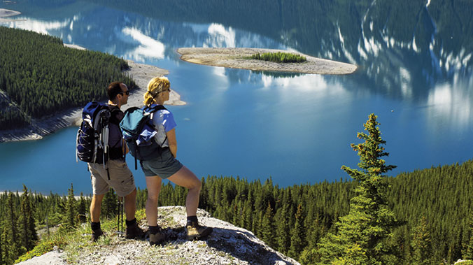 Canadian Rocky Mountain Hiking:  Banff, Lake Louise and Yoho