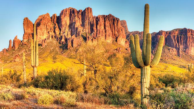 Sonoran Desert Mountains