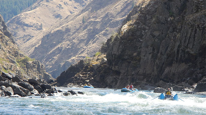 Whitewater Rafting Salmon River