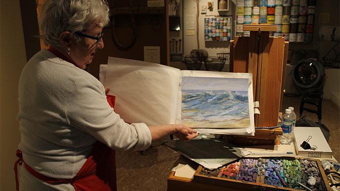 Painting Chincoteague Island