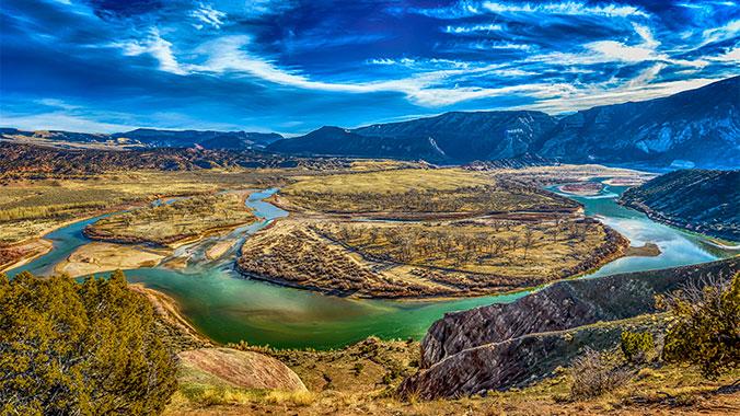 Dinosaur National Monument in Utah
