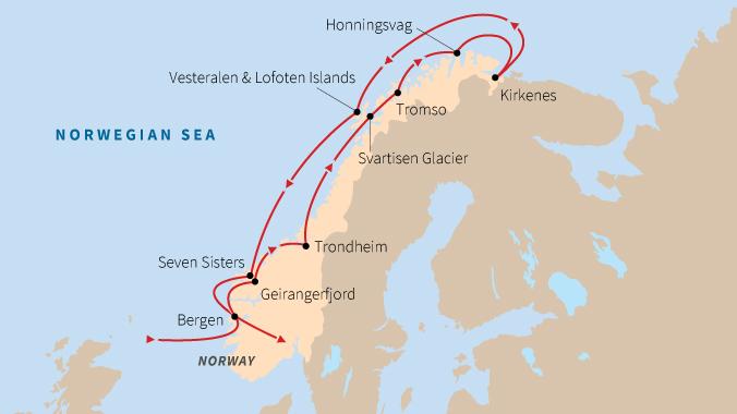 Sailing Coastal Norway