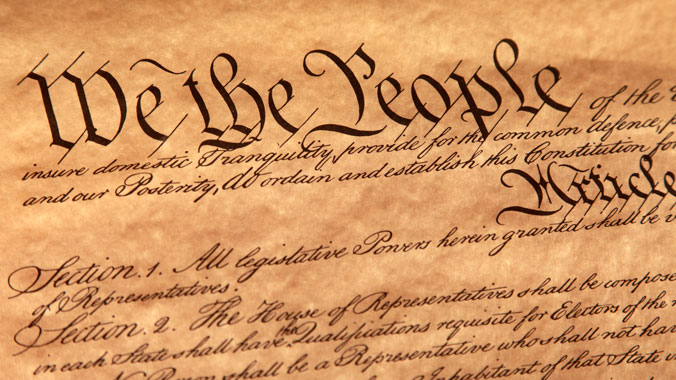 """We the People"": The Constitution Then and Now"