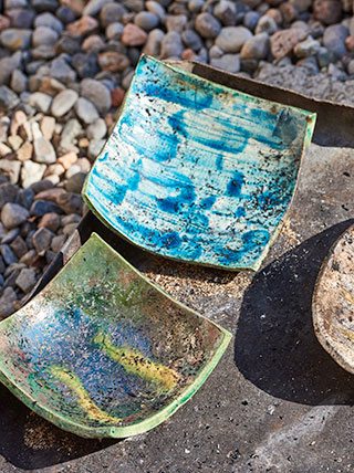 Road Scholar Crafts Week at Snow Farm: Raku Fired Ceramics