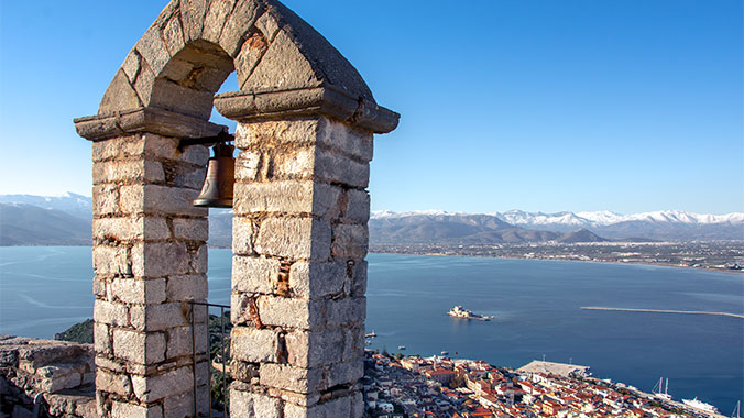 Winter in Greece, Olympia, Nafplion