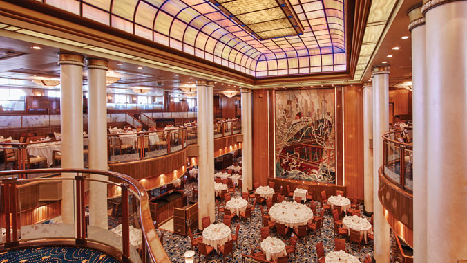 French Impressionism on the QM2