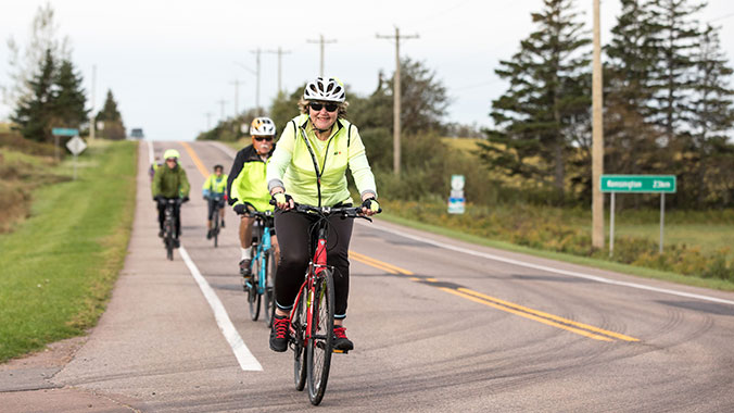 A Cycling Journey: Red Cliffs, Blue Waters and Green Gables