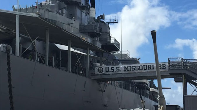 All Hands on Deck: Maintaining the USS Missouri in Pearl Harbor