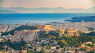 Lodging in Athens, Greece