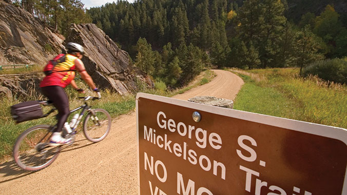 Mickelson Trail Elevation Map.Biking In The Black Hills Of South Dakota