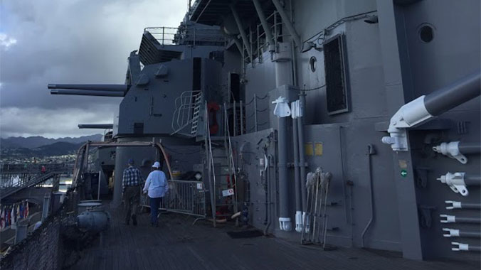 All Hands on Deck: Maintaining the USS Missouri in Pearl