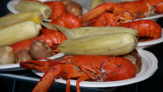 Lobsters, Wineries and Foods of New England